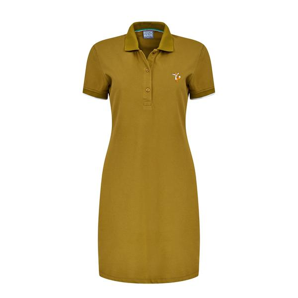 Ruck&Maul Kadın Slim Fit Yeşil Elbise