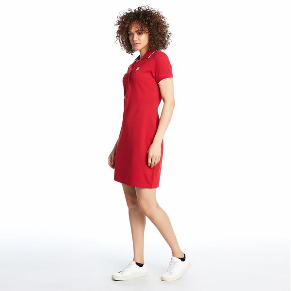 Ruck&Maul Kadın Slim Fit Kırmızı Elbise