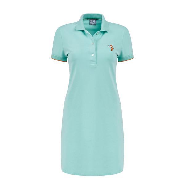 Ruck&Maul Kadın Slim Fit Mavi Elbise