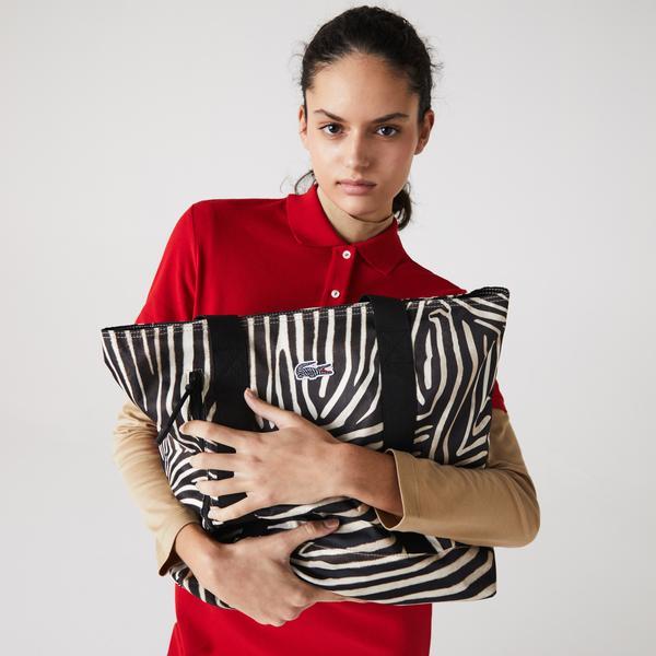 Lacoste X National Geographic Kadın Siyah Çanta