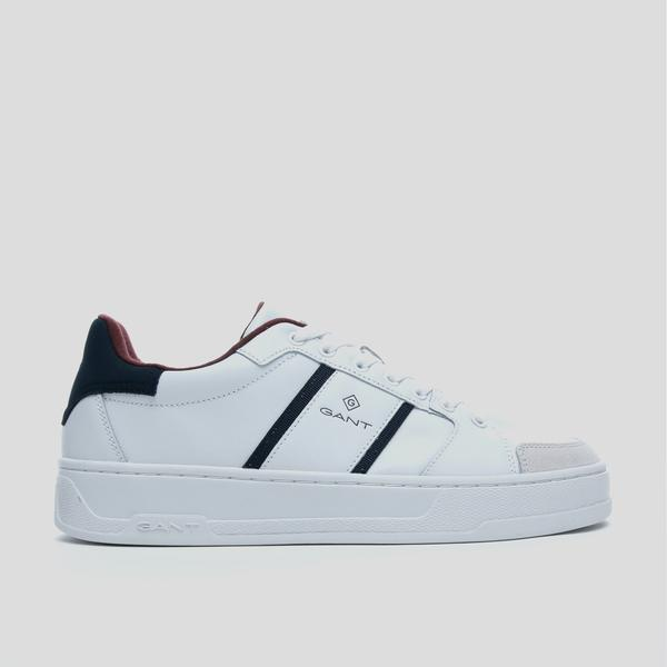 GANT Erkek Beyaz Deri Sneaker