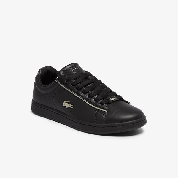 Lacoste Carnaby Evo 0721 3 Sfa Kadın Siyah Sneaker