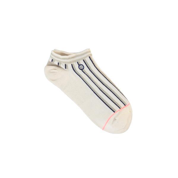 Stance Striped Morning Cream Kadın Beyaz Çorap